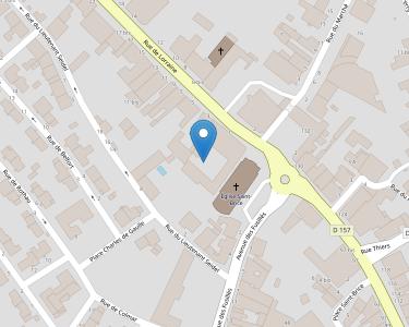 Adresse Caf des Vosges - MSAP de Thaon-les-Vosges