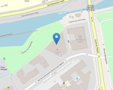 Adresse Caf du Bas-Rhin - Siège de Strasbourg