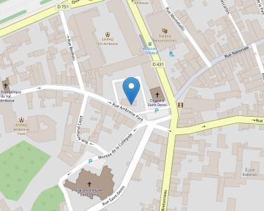 Adresse Caf d'Indre-et-Loire - Point relais d'Amboise