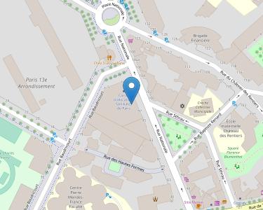 Adresse Caf de Paris - Point relais Nationale