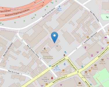 Adresse Caf du Val-de-Marne - Point relais de Gentilly