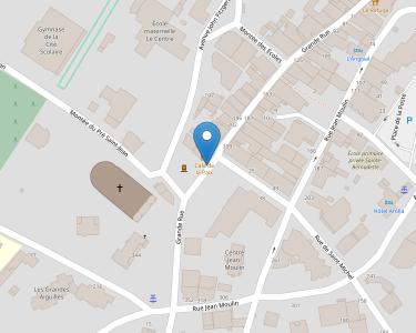 Adresse Caf de Saoie - Point relais d'Aime