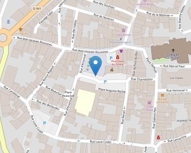 Adresse Caf de Haute-Vienne - Accueil de Saint-Junien