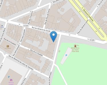 Adresse Caf du Nord - Accueil de Cambrai