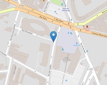 Adresse Caf du Nord - Accueil de Tourcoing