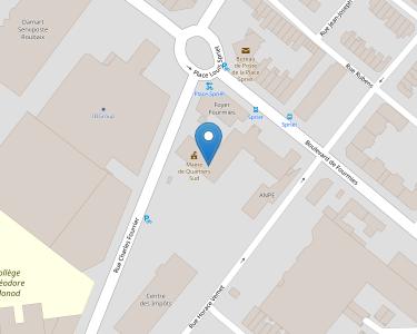 Adresse Caf du Nord - Point relais de Roubaix