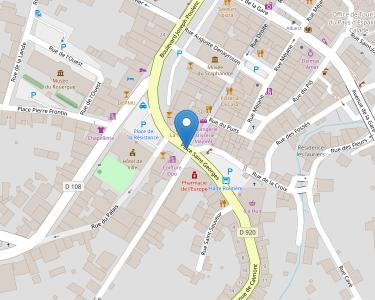 Adresse Caf de l'Aeyron - Point relais d'Espalion