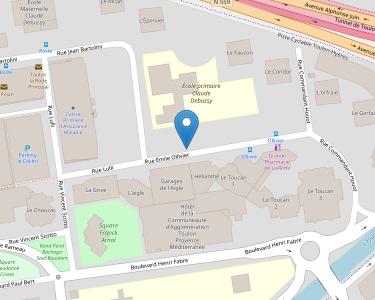 Adresse Caf du Var - Siège de Toulon - La Rode