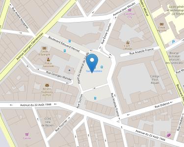 Adresse Caf de l'Hérault - Point relais de Béziers - De-Gaulle