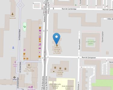 Adresse Caf de l'Hérault - MSAP de Montpellier - La Paillade