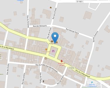 Adresse Caf de Gironde - Point relais de Pellegrue