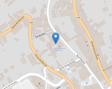 Adresse Caf du Puy-de-Dôme - Accueil de Thiers