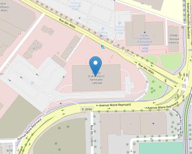 Adresse Caf de l'Isère - Siège de Grenoble
