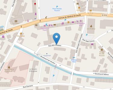 Adresse Caf de l'Eure - Point relais des Andelys
