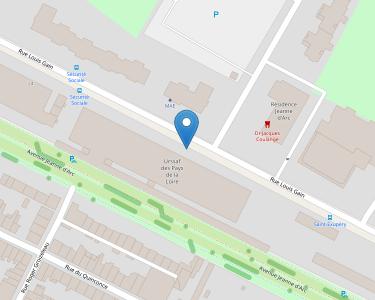 Adresse CPAM de Maine-et-Loire - siège d'Angers