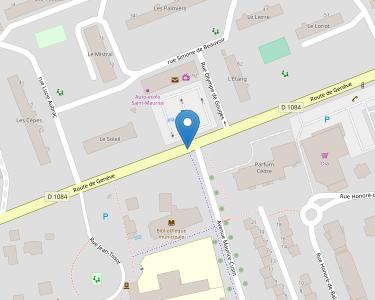 Adresse CPAM de l'Ain - accueil de Saint-Maurice-de-Beynost