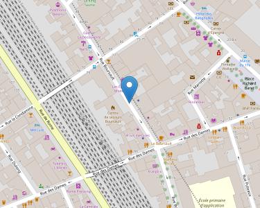 Adresse CPAM de Paris - accueil des Batignolles