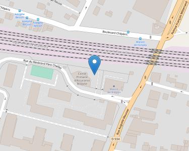 Adresse CPAM de la Seine-et-Marne - accueil de Chelles