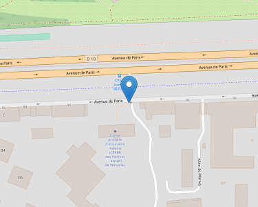 Adresse CPAM des Yelines - accueil de Versailles