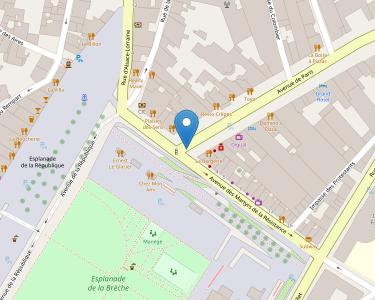 Adresse CPAM des Deux-Sères - siège de Niort