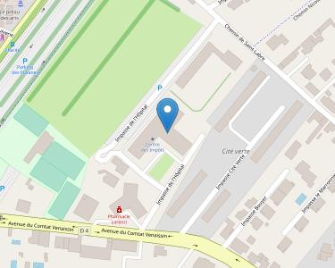 Adresse CPAM du Vaucluse - accueil de Carpentras