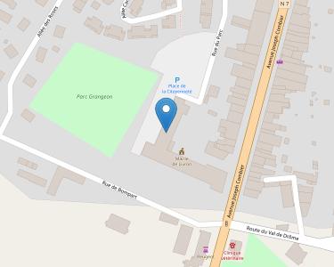 Adresse CPAM de Drôme - accueil de Liron