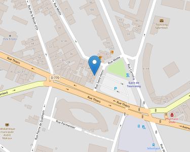 Adresse CPAM du Nord - siège de Tourcoing