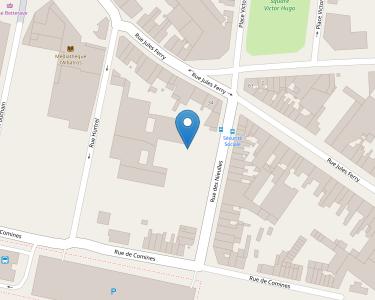 Adresse CPAM de Flandres-Dunkerque-Armentières - siège d'Armentières
