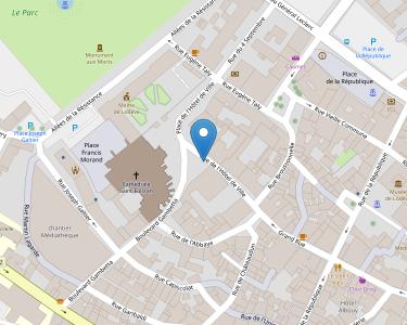 Adresse CPAM de l'Hérault - accueil de Lodèe