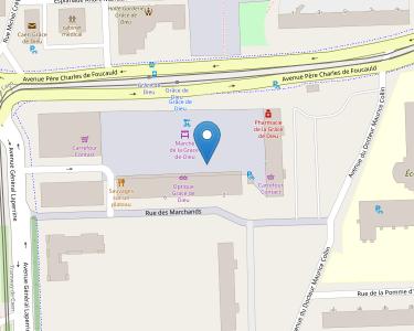 Adresse CPAM du Calados - accueil de Caen - Grâce-de-Dieu