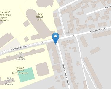 Adresse S.A. RESIDENCE DE LA TOUR D'AUVERGNE