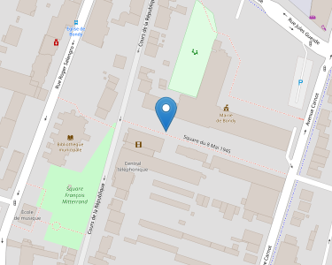 Adresse CCAS DE BONDY