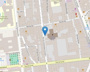 Adresse DIACONAT DE BORDEAUX