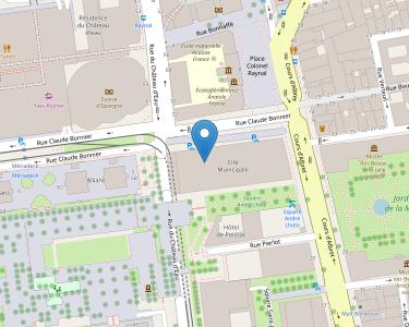 Adresse CCAS DE BORDEAUX