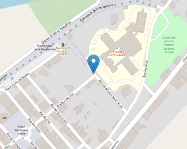 Adresse CENTRE HOSPITALIER  BEDARIEUX