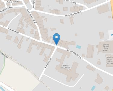 Adresse CENTRE HOSPITALIER DE ROCHECHOUART
