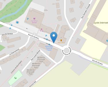 Adresse CPAM de l'Ain - accueil de Saint-Genis-Pouilly