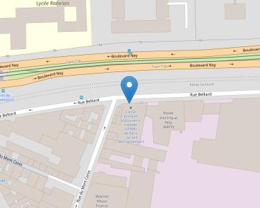 Adresse CPAM de Paris - accueil de Clignancourt