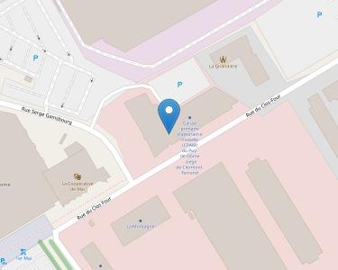 Adresse CPAM du Puy-de-Dôme - siège de Clermont-Ferrand
