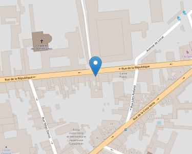 Adresse COLLEGIALE SAINTE CECILE