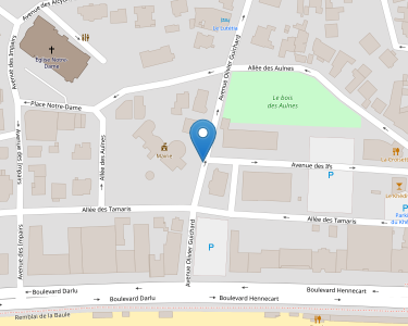 Adresse CCAS DE LA BAULE