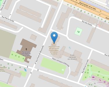 Adresse MDPH 76 - Seine-Maritime