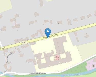 Adresse CENTRE HOSPITALIER DE BRETEUIL-SUR-ITON
