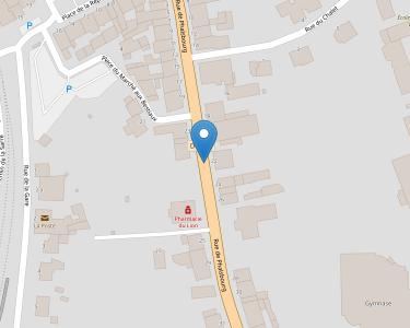 Adresse ASSOCIATION CENTRE SOINS DOMICILE SARRE-UNION