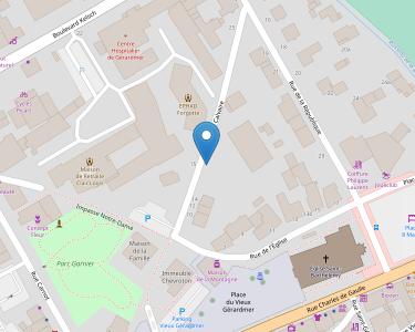 Adresse Caf des Vosges - Point relais de Gérardmer