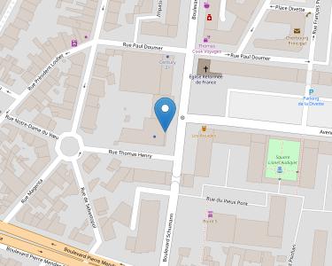 Adresse Caf de Manche - Point relais de Cherbourg