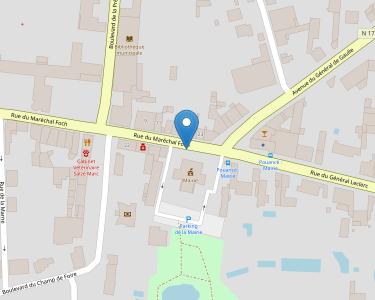 Adresse Caf de Maine-et-Loire - Point relais de Pouancé