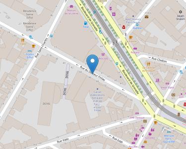 Adresse Caf de Paris - Point relais Finlay