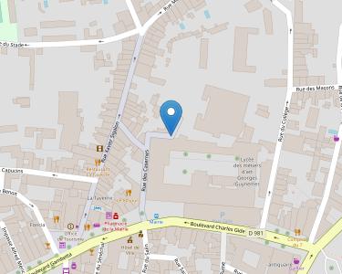 Adresse Caf du Gard - Point relais d'Uzès