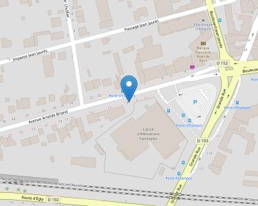 Adresse Caf de l'Essonne - Accueil d'Arpajon